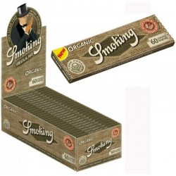 Cartine Smoking Organic Corte 100% Bio - Box da 50 Libretti