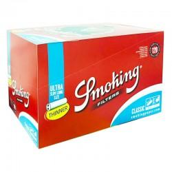 Smoking Ultra Slim 5,7mm Long Size - Box da 30 Bustine da 120 Filtri