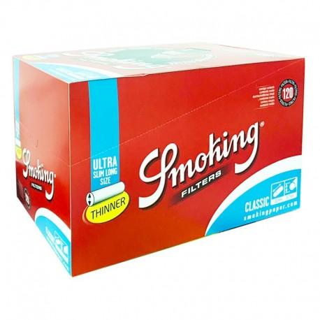 2400 Filtri SMOKING BROWN Ultra Slim 5.7 mm filtro sottile 20 scatoline