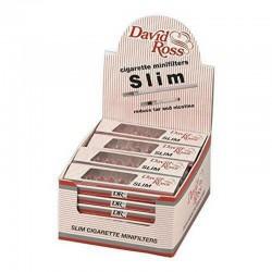 David Ross Microbocchini Slim 5mm - Box da 24 Blister da 10