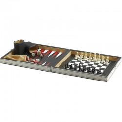 Juego Tavoliere Scacchi e Backgammon IMPERIA