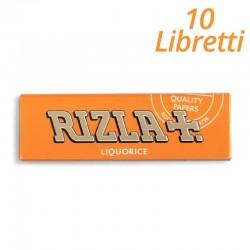Rizla Cartine Rizla Aroma Liquirizia Corte - 10 Libretti