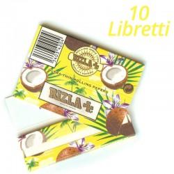 Cartine Rizla Coconuts Aroma Cocco Corte - 10 Libretti