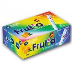 Tubetti con Filtro aroma Arancia - Box da 100 Sigarette Vuote