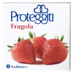 10 Preservativi Proteggiti Aroma Fragola Scad. 10/2019