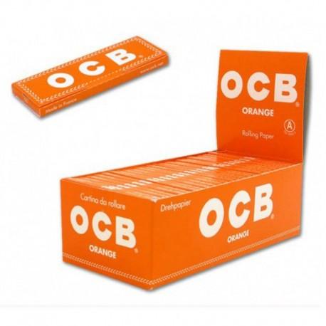 CARTINE OCB ORANGE CORTE - BOX DA 50 LIBRETTI