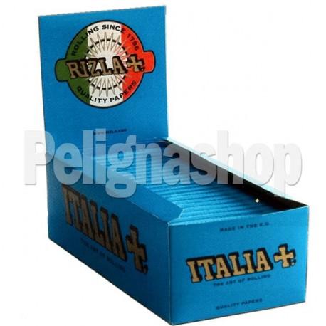 RIZLA cartine corte doppie blu LIMITED EDITION ITALIA