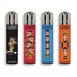 4 Accendini Clipper Large LUCKY LUKE serie 4