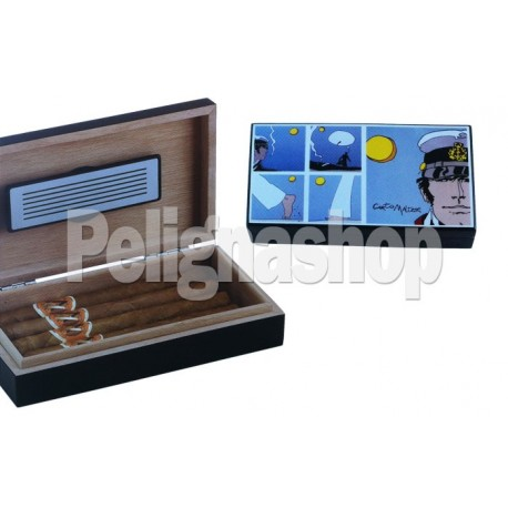 CORTO MALTESE Humidor Travel Riquadri umidificatore
