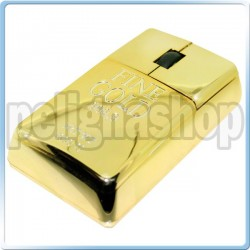 Gold Bar Mouse USB a forma di lingotto d'oro