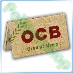 CARTINE OCB ORGANIC HEMP CORTE DOPPIE CANAPA BIOLOGICA - LIBRETTO