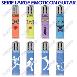 8 CLIPPER Large serie Emoticon Guitar
