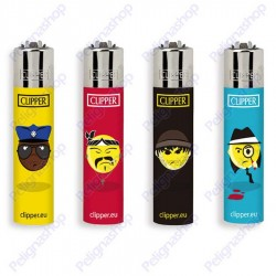 Clipper Micro EMOTICONS CHICANO - 4 Accendini