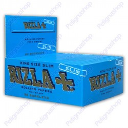 RIZLA CARTINE LUNGHE BLU KING SIZE SLIM - 1 box