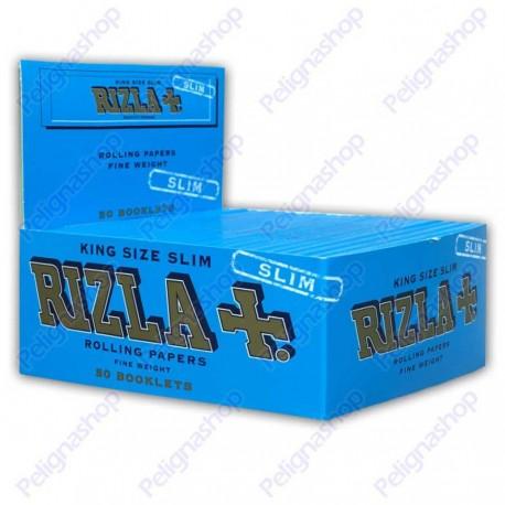 RIZLA CARTINE LUNGHE BLU KING SIZE SLIM - 1 box