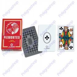 Mazzo di Carte da gioco Juego Piemontesi 100% plastica