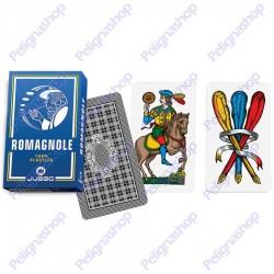 Mazzo di Carte da gioco Juego Romagnole 100% plastica