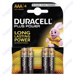 Duracell Long Power Alcaline Ministilo AAA - Blister 4 Batterie