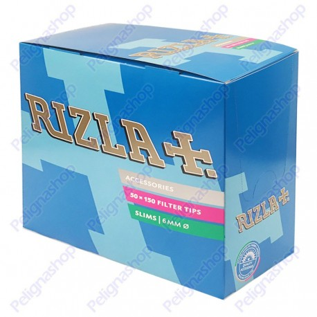Rizla Slim 6mm - Box da 50 Bustine da 150 Filtri