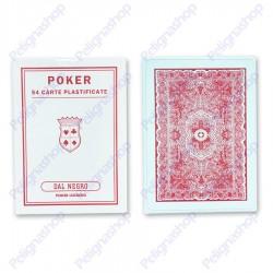 Carte da gioco POKER LEGGERO Dal Negro 54 carte plastificate