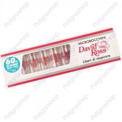 David Ross Microbocchini 8mm - Blister da 10 Microbocchini