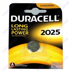 Duracell Lithium CR2025 DL2025 Pile 3V - Blister 1 Batteria