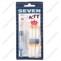 Kit SEVEN days - bocchino con 7 filtri