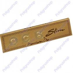 Cartine Ocb Premium Oro King Size Lunghe Slim - Libretto