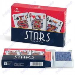 Juego Ramino Stars - 2 Mazzi di carte da Ramino in plastica