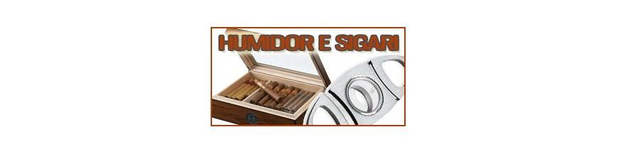 Humidor e sigari