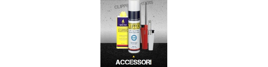 Accessori Clipper - Gas, Benzina, Accendigas, Pietrine